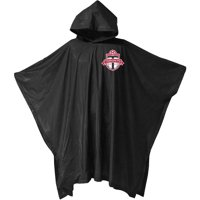 Toronto FC Adult Medium Weight Stadium Poncho - Black - No Size