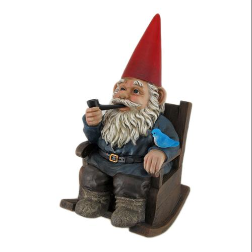 Home Sweet Home Rocking Chair Gnome Statue by DWK Corporation