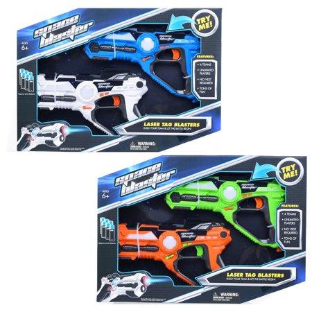 Four Gun - Indoor Outdoor Set of 4 Infrared Laser Tag Guns