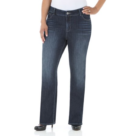 db7327073cb Lee Riders - Riders by Lee Women s Plus-Size Petite Modern Slim ...