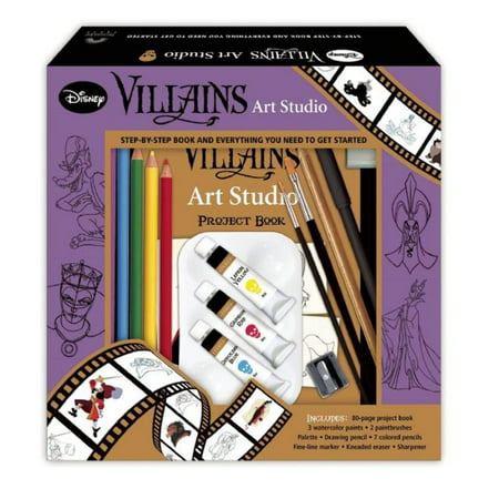 DISNEY VILLAINS ART STUDI - Disney Female Villians