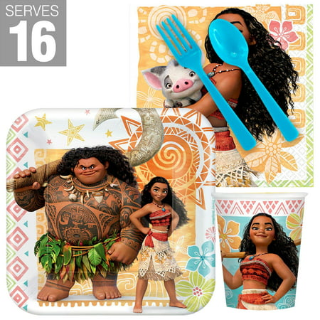 Moana Snack Party Pack for 16 - Snack Ideas For Halloween