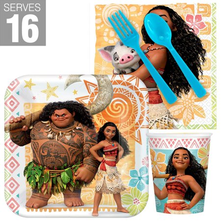 Halloween Snack Party Ideas (Moana Snack Party Pack for 16)