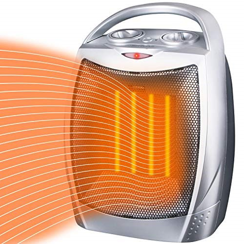 Brightown Space Heater Electric Heater Portable Ceramic Heater With Adjustable Thermostat And Overheat Protection Etl Listed For Home Office Kitchen Bedroom And Dorm 750 1500 Watt Walmart Com Walmart Com