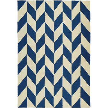 Couristan Covington Herringbone Chevron Indoor Outdoor Rug