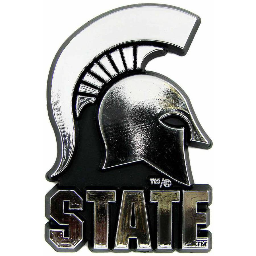 NCAA Michigan State Chrome Emblem