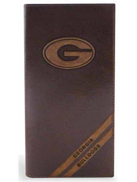 Georgia Secretary Distressed Leather Wallet