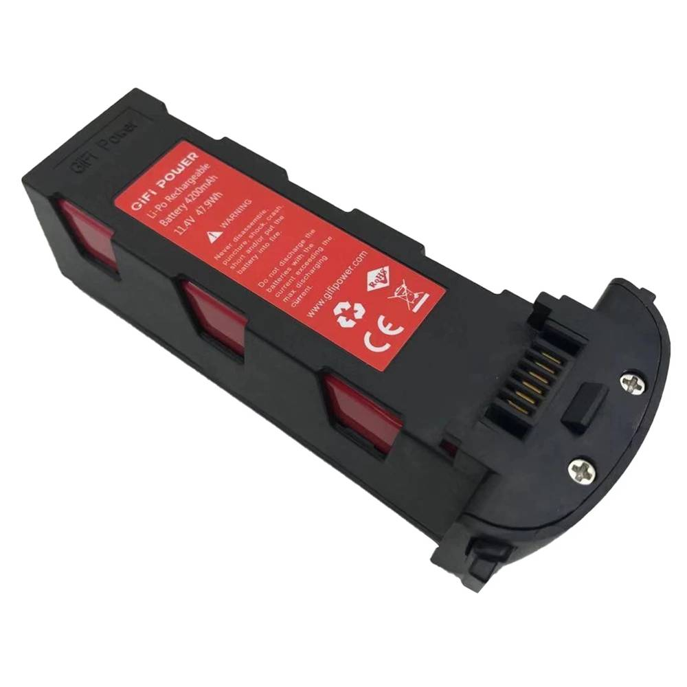 11.4V 4200mAh 47.9Wh Li-Po Rechargeable Battery for Hubsan Zino H117S Drone