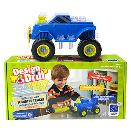 Educational Insights Design & Drill Power Play Vehicles Monster Truck - image 5 de 5