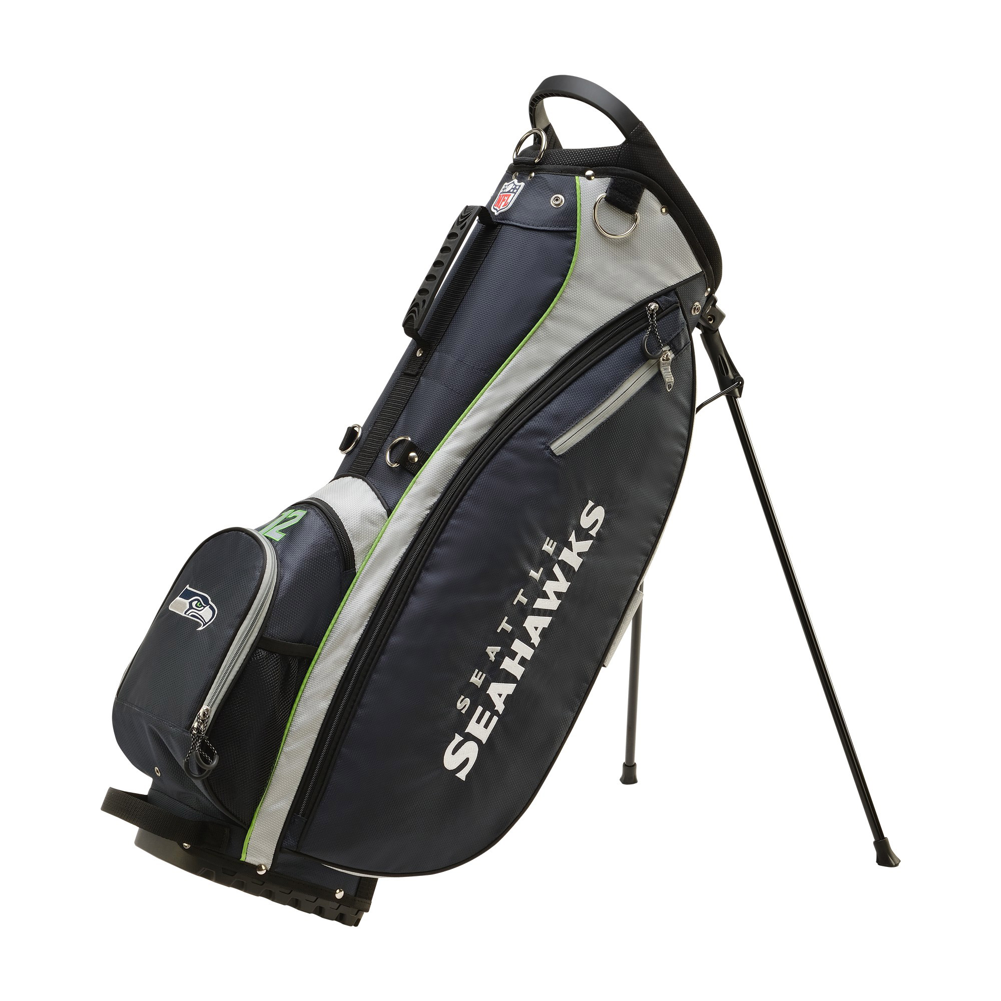 Wilson NFL Carry Golf Bag, Seattle Seahawks