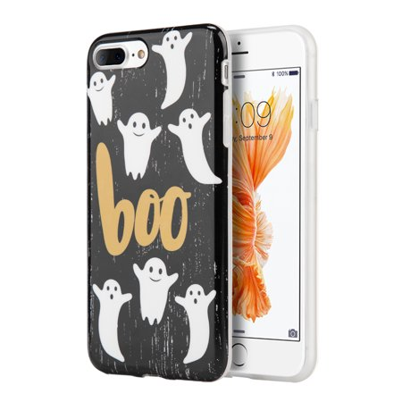 For Apple IPHONE 8 PLUS/For Apple IPHONE 7 PLUS HALLOWEEN SERIES IMD TPU CASE - BOO - Halloween Series Imdb