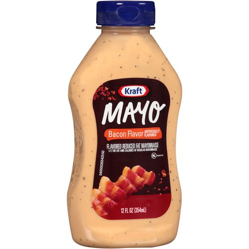 Kraft Bacon Flavor Reduced Fat Mayo, 12 fl oz