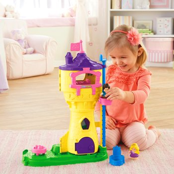 Fisher Price Disney Princess Rapunzels Figure Musical Tower