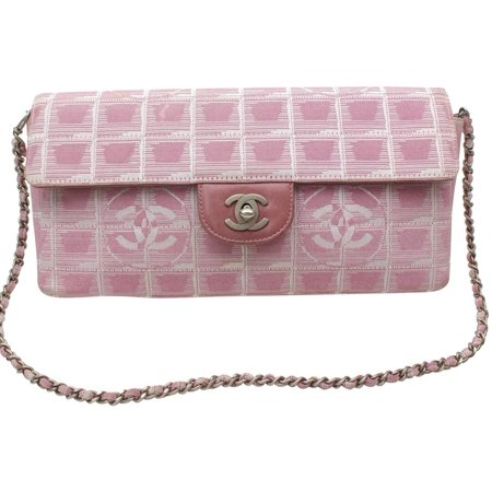 a8e57ca5d38c CHANEL - PRE-OWNED East West Quilted Chocolate Bar Chain Flap 869394 ...
