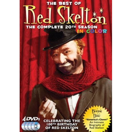 The Best of Red Skelton The Complete 20th Season (DVD), 4 (The Very Best Of The Four Seasons)