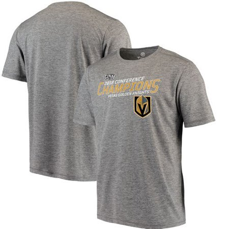 Vegas Golden Knights Fanatics Branded 2018 Western Conference Champions Game Misconduct Performance T-Shirt - Charcoal (Game Misconduct)