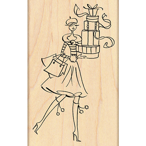 """Penny Black Mounted Rubber Stamp 2.5"""" x 4"""", Gift Tower"""