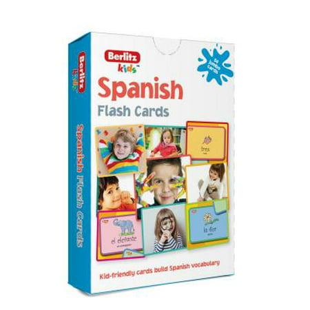 Berlitz Language: Spanish Flash - Language Cards