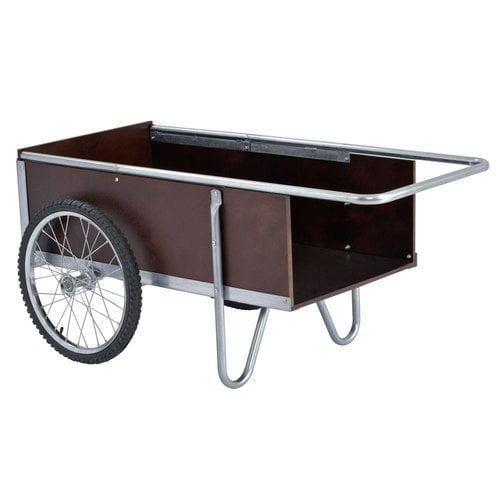 "Yard/Garden Cart, 53""W, 6.5 cu. ft."