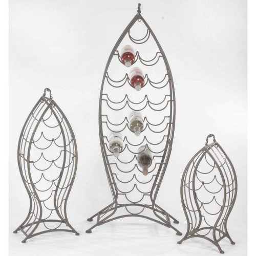 Fish Wine Rack Set