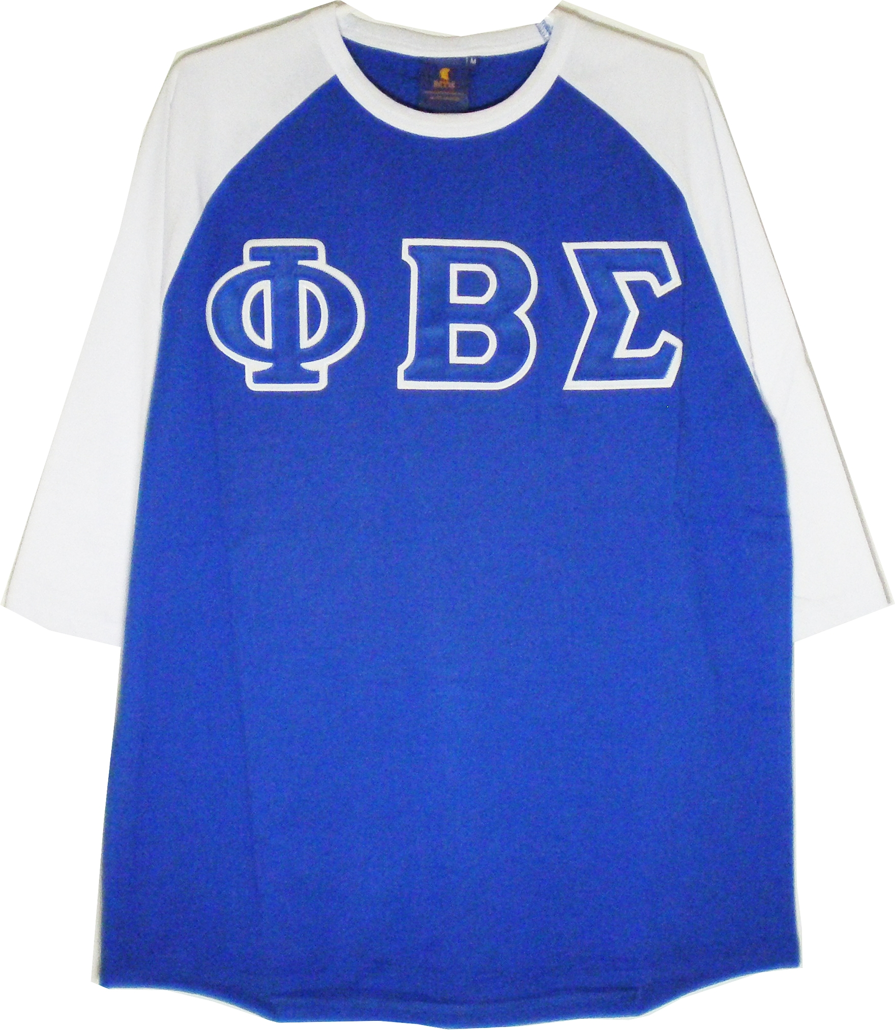 Buffalo Dallas Phi Beta Sigma Applique Mens Baseball Tee