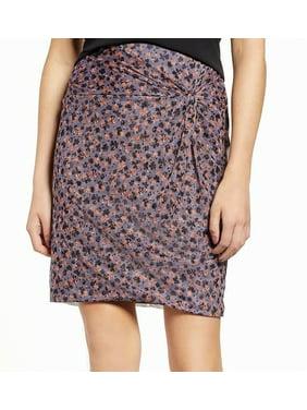 Ditzy Drifty Twist Women Straight Mesh Skirt XL