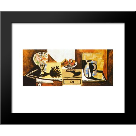 Still life on the dresser 20x24 Framed Art Print by Picasso, Pablo