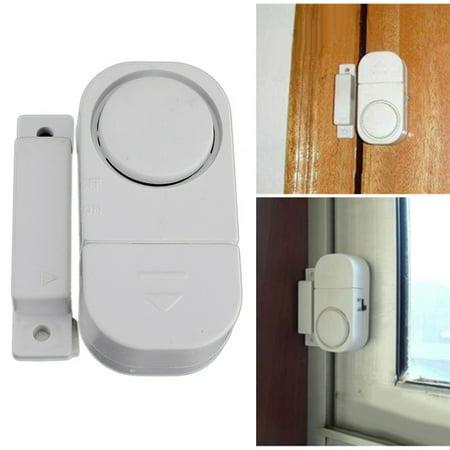 10 Pack Wireless Home Door Window Entry Burglar Security Alarm Magnetic Sensor - image 3 de 6