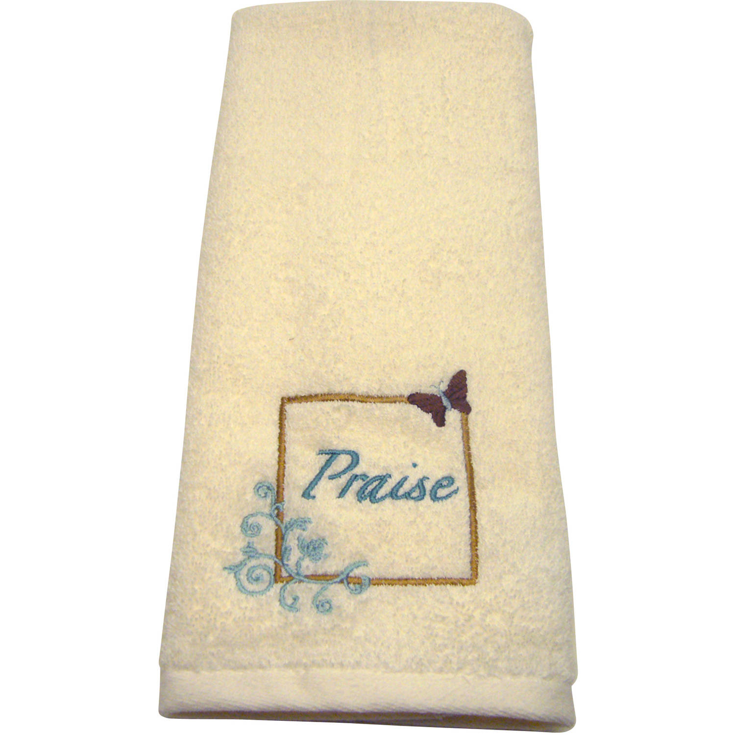 butterfly blessings 3 piece towel set spice