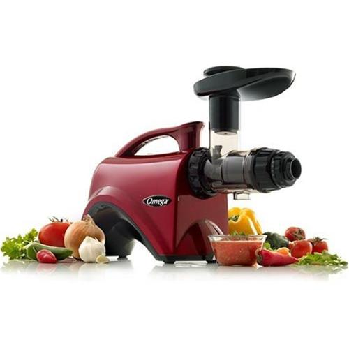 Omega OMNC800HDR Nutrition Center Juicer, Red