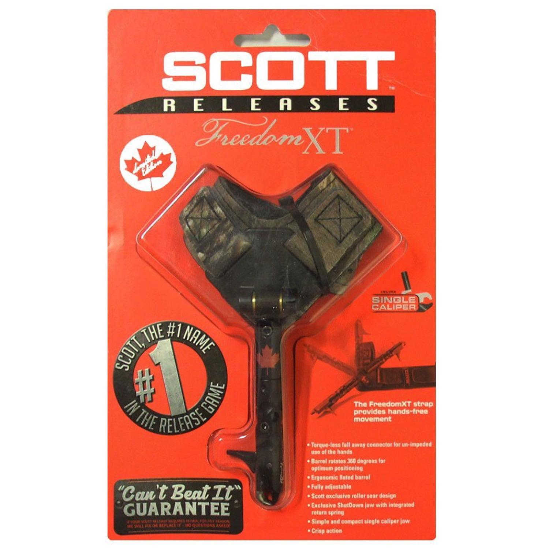 Scott Archery Freedom XT-Camo Strap-Black-Canadian Flag by Scott Archery