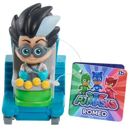 PJ Masks Wheelie Vehicle - Romeo's Lab
