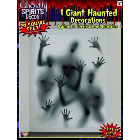 20 Square Ft Ghostly Spirits Halloween Party Decoration One Size - image 1 de 1