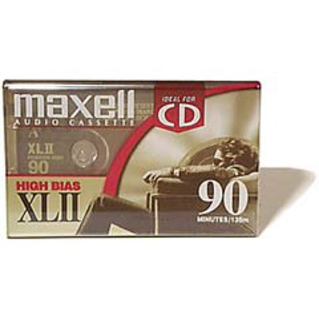 XL-II C90 Blank Audio Cassette Tape 2 pack (Discontinued by Manufacturer), Package of two of Maxell's most popular high-bias, high-performance.., By Maxell From - 2 Paper Cassette