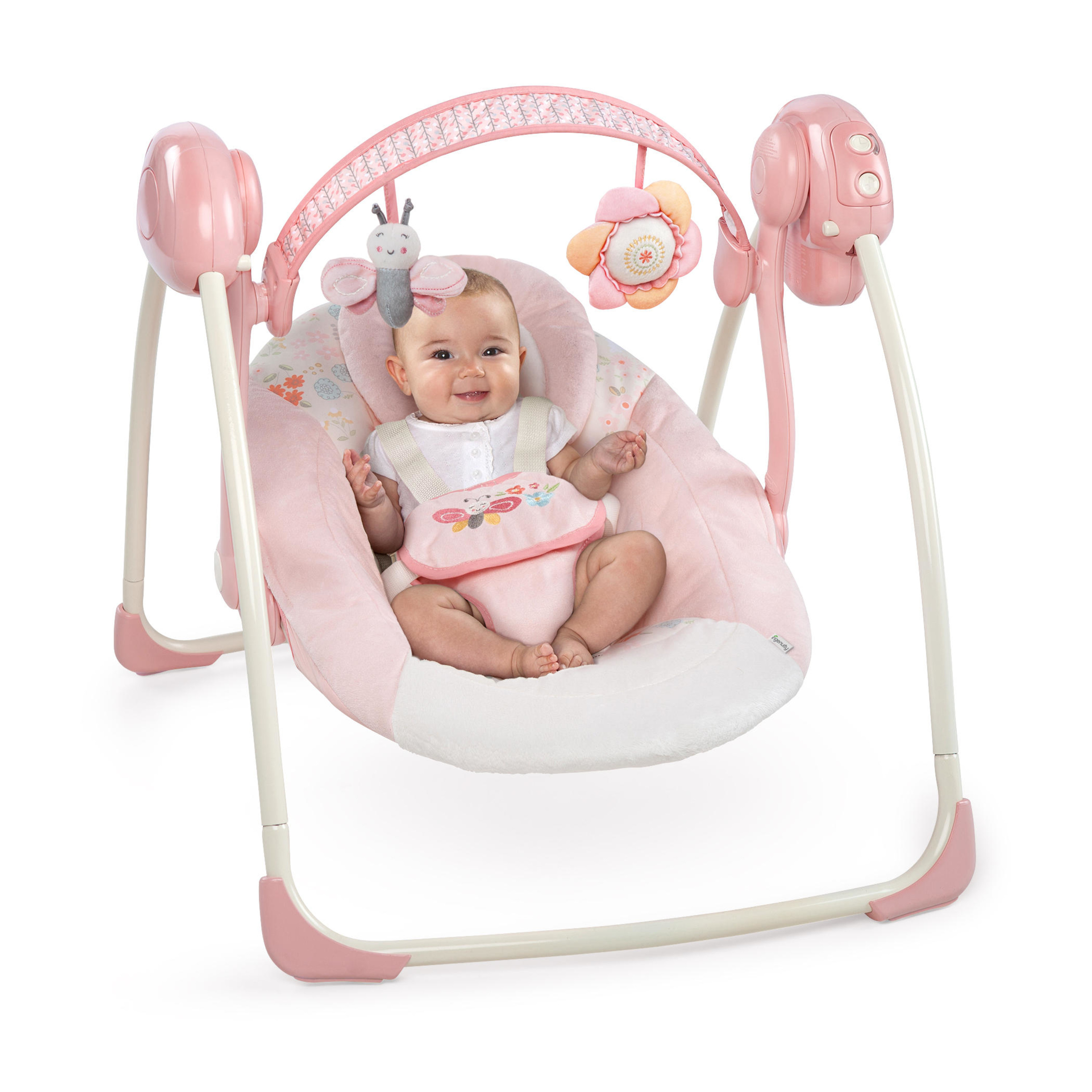 Ingenuity Portable Swing Felicity Floral Babygirl Promotion Bright Starts Smartbounce Automatic Bouncer Winslow