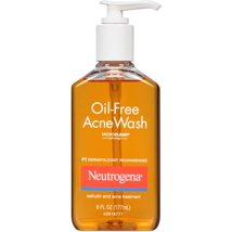 Facial Cleanser: Neutrogena Oil-Free Acne Wash