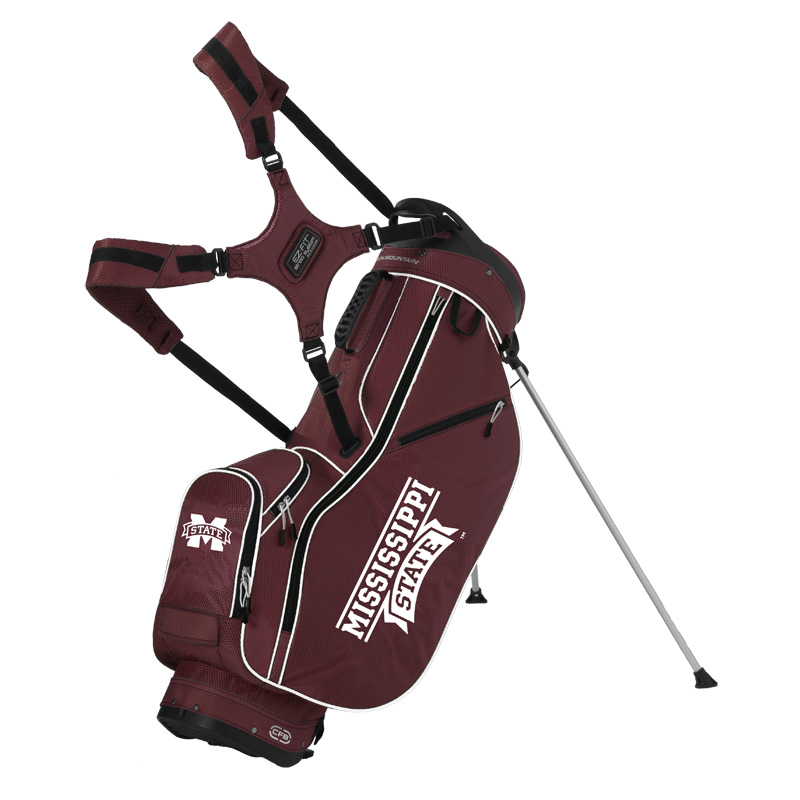 Mississippi State Bulldogs Stand Bag by Sun Mountain