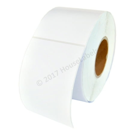 """4x6 (4"""" x 6"""") Direct Thermal Zebra Eltron Finest Quality Fasson Paper Labels 3"""" Core (1 Roll/1000 Labels)"""