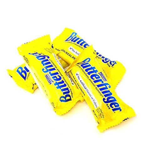 Nestle Butterfinger, Fun Size, Chocolate Bars, 3 pounds bag