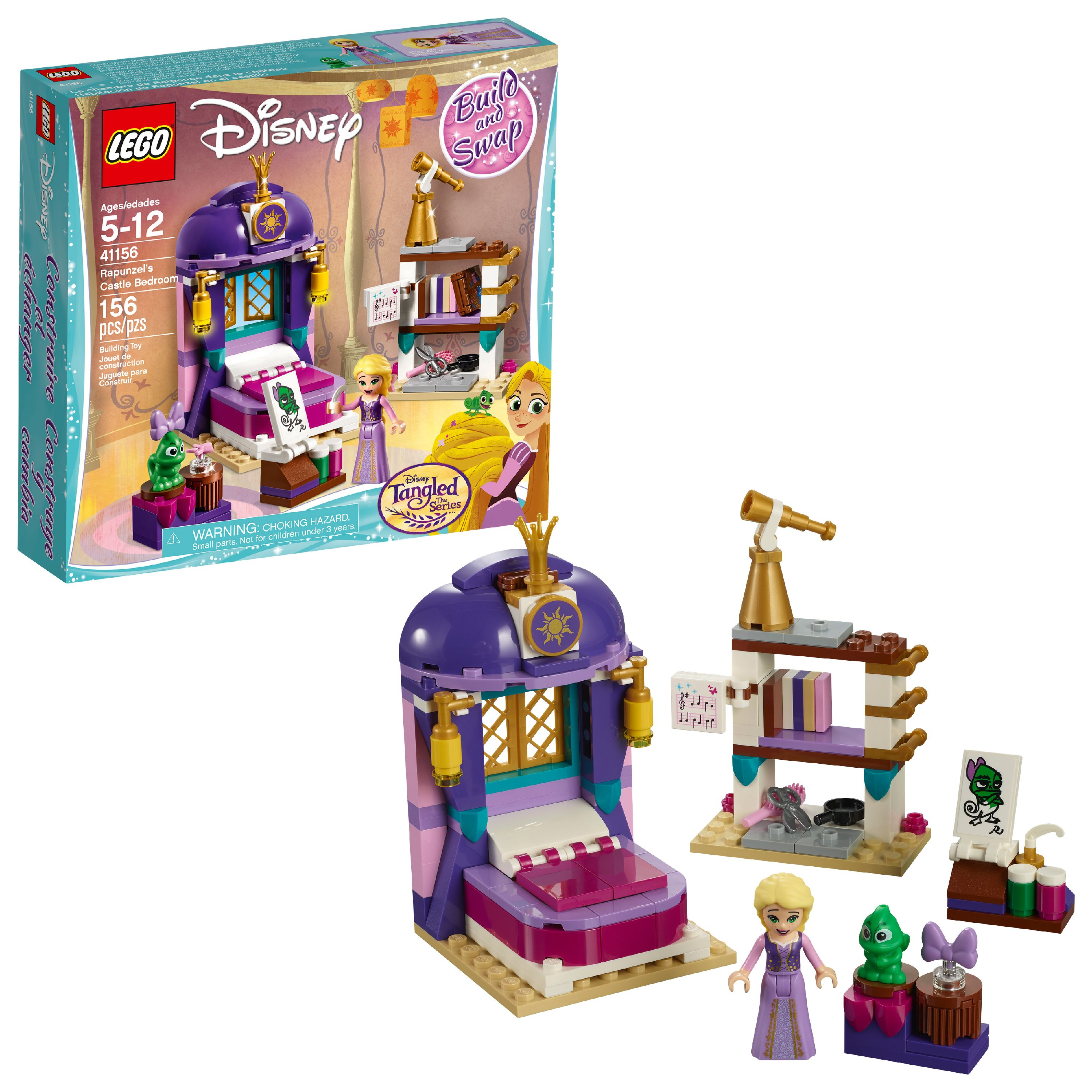 LEGO Disney Princess Rapunzel's Castle Bedroom 41156