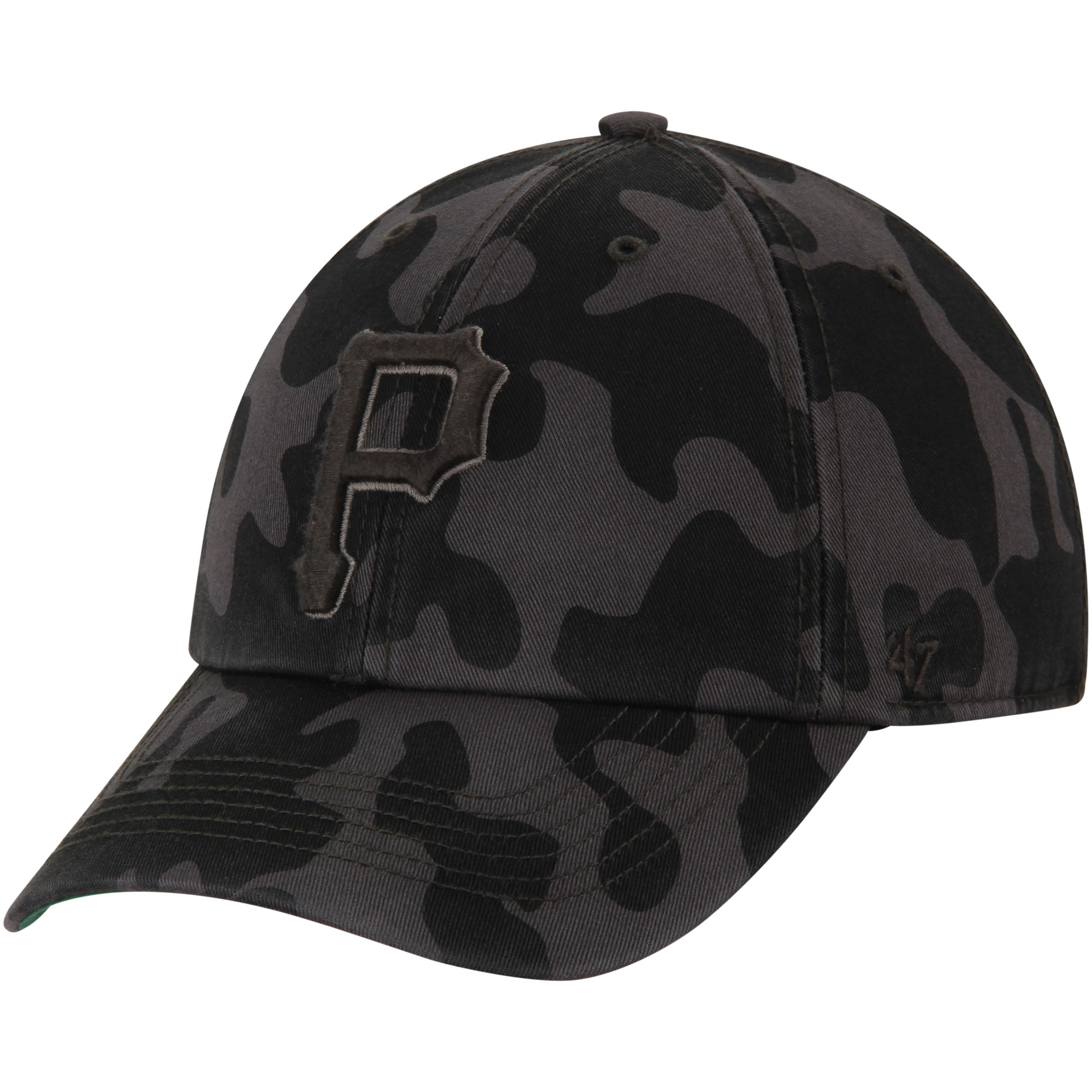 Pittsburgh Pirates '47 Flintlock Franchise Fitted Hat - Charcoal