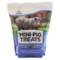 Manna Pro Mini-Pig Treats, Berries & Cream, 4 lb