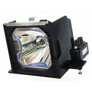 Sanyo PLC-XP46L Projector Housing with Genuine Original OEM Bulb