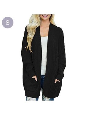750be6b0d23b Product Image Women's Casual Batwing Sleeves Long Knitted Cardigan Sweaters  Jackets