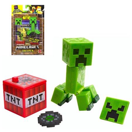 Creeper with Comic Minecraft Action Figure 3