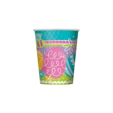 - Easter Spring Eggs 9 oz Paper Cups