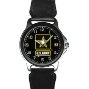 US Army Nylon and Silver Watch