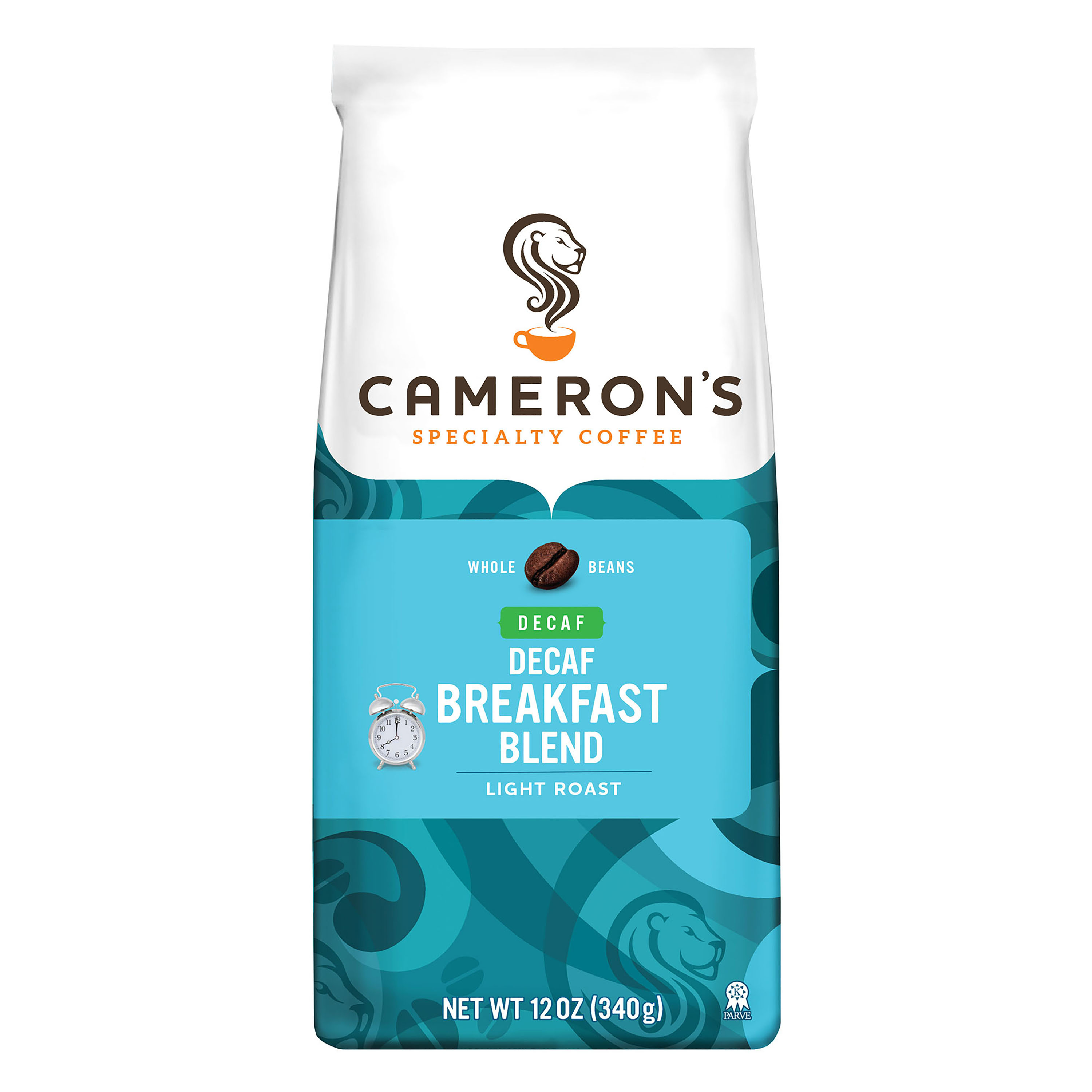 Cameron's Specialty Coffee Decaf Breakfast Blend Whole Bean, 10 oz