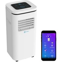 Alexa-Enabled RolliCool Low-Profile Portable Air Conditioner 10,000 BTU 3-in-1 AC