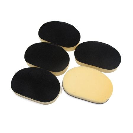 5Pcs Beige Black Compound Sponge Waxing Polishing Pads Cleaning Tool for Car - image 3 of 3
